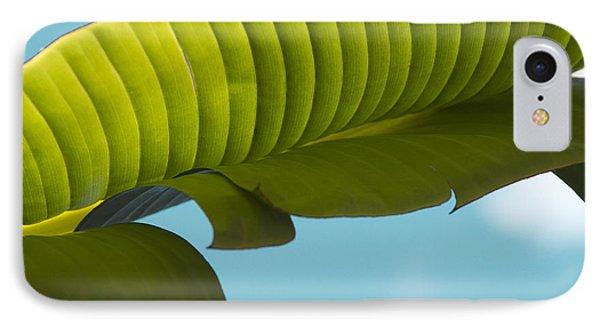 Banana Leaf And Maui Sky Phone Case by Sharon Mau