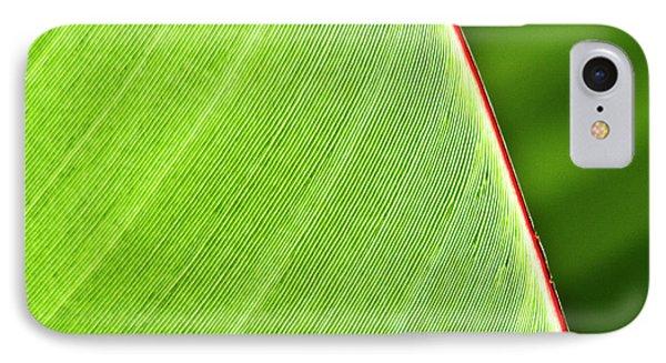 Banana Leaf Phone Case by Heiko Koehrer-Wagner