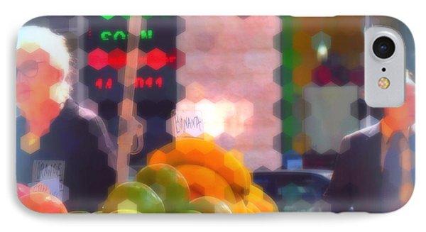 Banana - Street Vendors Of New York City IPhone Case by Miriam Danar