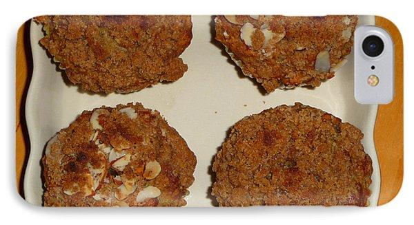 Banana Oat Crunch Muffins IPhone Case