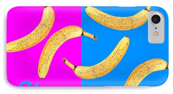 Bananas Phone Case by Natalie Kinnear