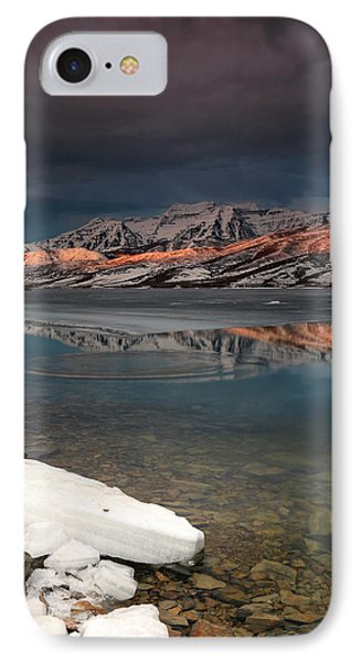 Band Of Light Over Deer Creek. IPhone Case by Johnny Adolphson