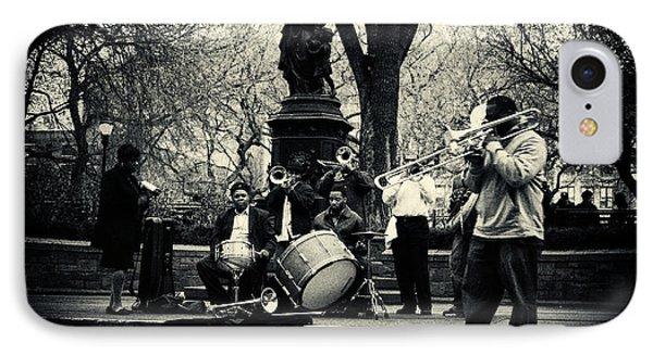 Band On Union Square New York City Phone Case by Sabine Jacobs