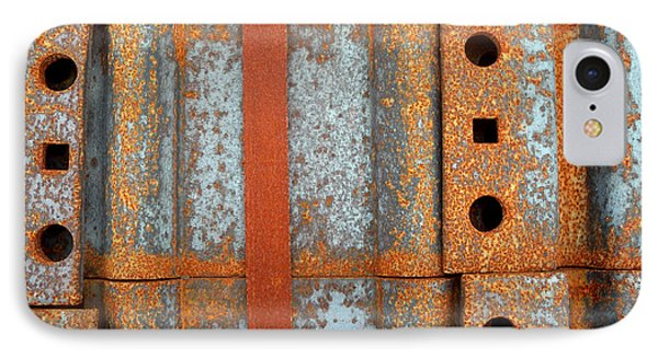 IPhone Case featuring the photograph Banded Steel by Robert Riordan