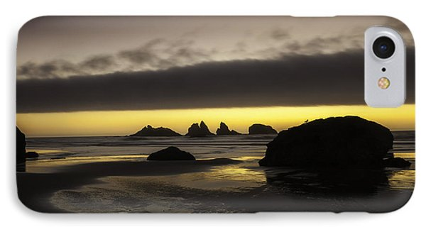 Bandon By The Sea IPhone Case by Jean-Jacques Thebault