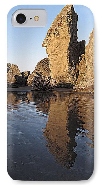 IPhone Case featuring the photograph Bandon Rocks by Suzy Piatt