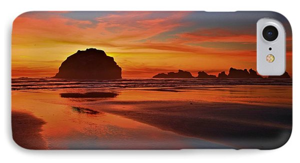 Bandon Sunset Spectacular Phone Case by Adam Jewell