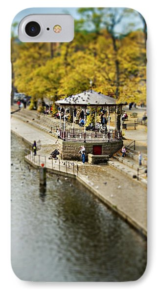 IPhone Case featuring the photograph Bandstand In Chester by Meirion Matthias