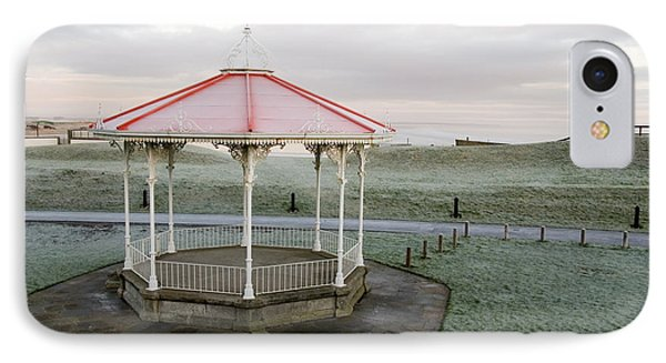 IPhone Case featuring the photograph Bandstand In Winter by Jeremy Voisey