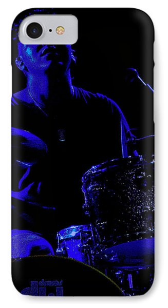 IPhone Case featuring the photograph Bang The Drum by Michael Nowotny