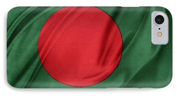 Bangladesh Flag IPhone Case by Les Cunliffe