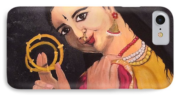 IPhone Case featuring the painting Bangles by Brindha Naveen