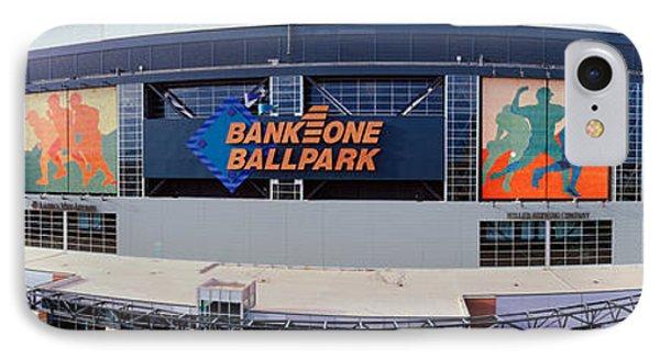 Bank One Ballpark Phoenix Az IPhone Case