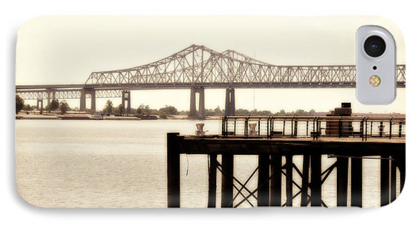 IPhone Case featuring the photograph Bank The Bridge by Davina Washington