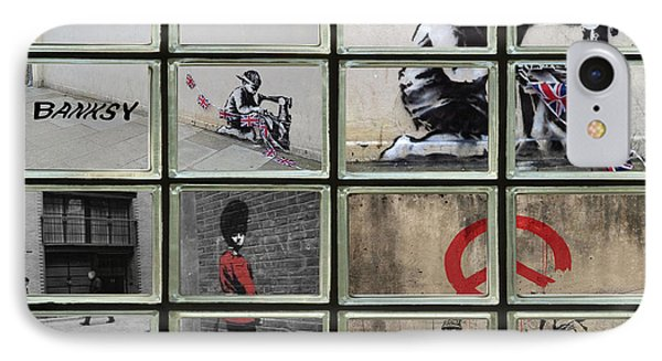 Banksy Street Art IPhone Case by David French