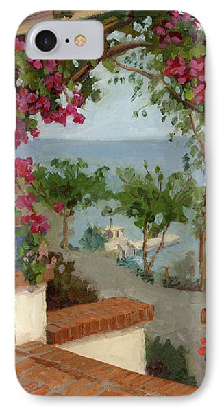 Banning House Bougainvillea IPhone Case