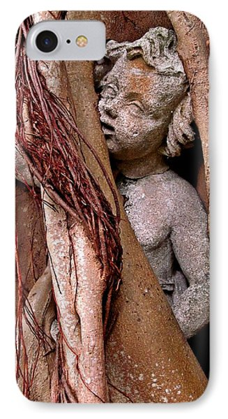 Banyan Boy Close Up IPhone Case by Maria Huntley