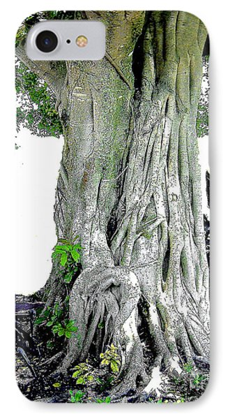 IPhone Case featuring the photograph Banyon Tree No. 2 by Merton Allen
