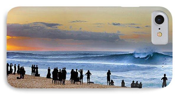 Banzai Sunset IPhone Case by Sean Davey