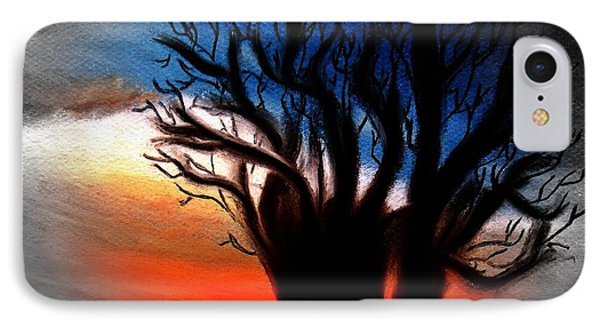 Baobab Tree 2 IPhone Case by Ayasha Loya