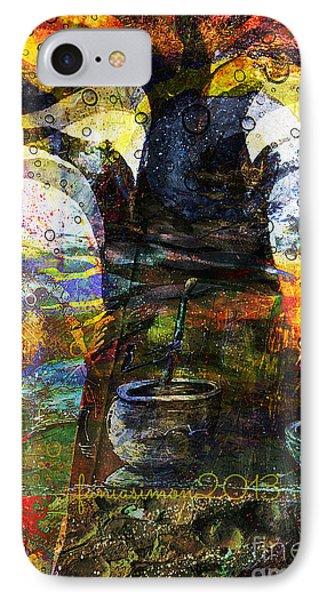 Baobab Tree  Phone Case by Fania Simon