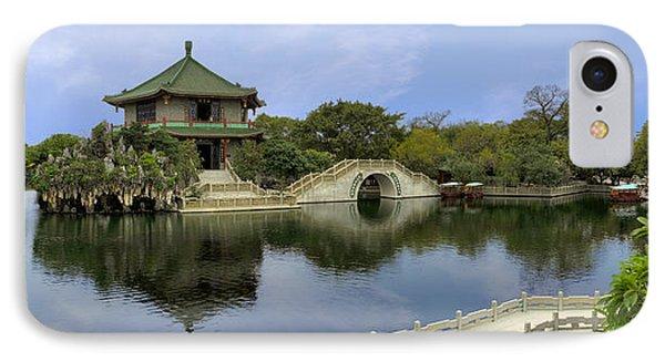 Baomo Garden Temple IPhone Case