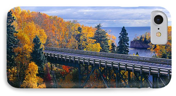 Baptism River Into Lake Superior IPhone Case by Panoramic Images