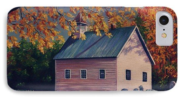 Baptist Church  Cades Cove IPhone Case by John Clark