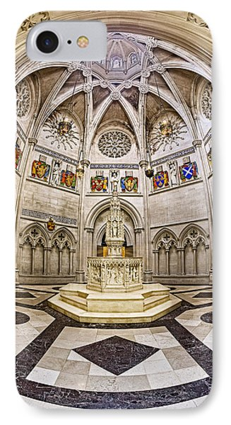 Baptistry At Saint John The Divine Cathedral IPhone Case by Susan Candelario