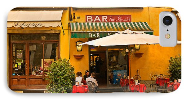 Bar San Giusto Phone Case by Mick Burkey