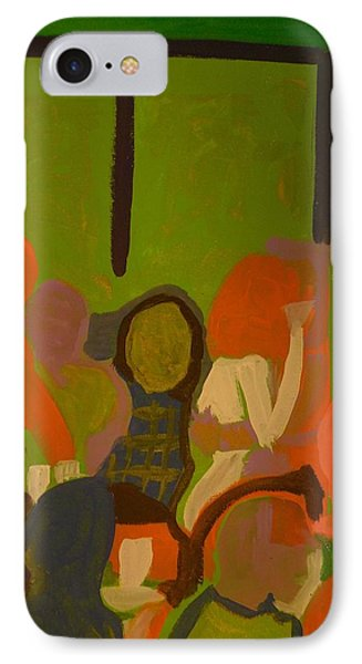 Bar Scene  IPhone Case by James Christiansen