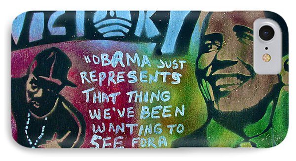 Barack And Fifty Cent Phone Case by Tony B Conscious