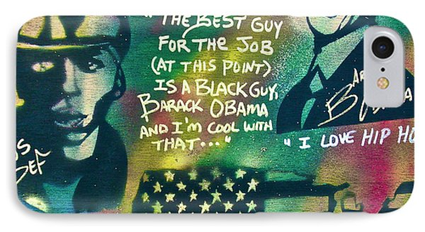 Barack And Mos Def Phone Case by Tony B Conscious