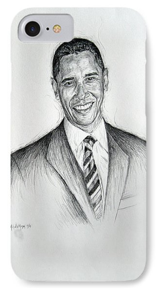 Barack Obama 2 IPhone Case