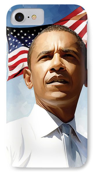 Barack Obama Artwork 1 IPhone Case