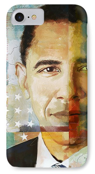Barack Obama IPhone 7 Case by Corporate Art Task Force