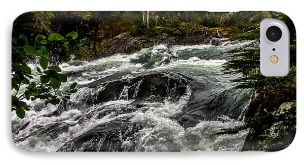 Baranof River Phone Case by Robert Bales