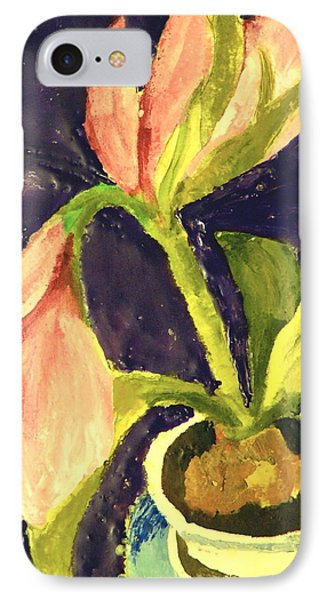 Barbara's Lily Phone Case by Valerie Lynch