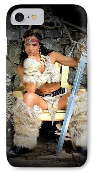 Barbarian Queen IPhone Case