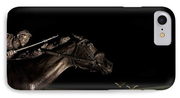 Barbaro And Churchill Downs At Night  IPhone Case