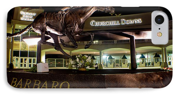 Barbaro Statue Outside Of Churchill Downs  IPhone Case