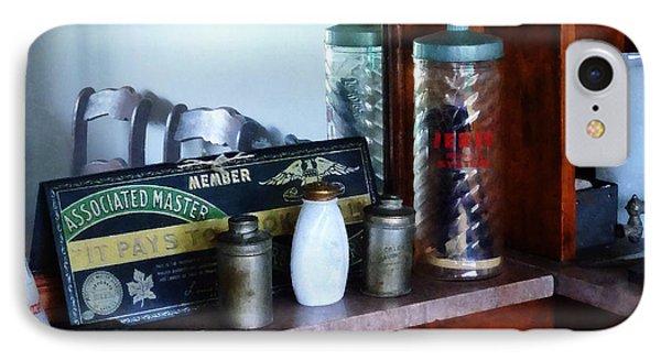 Barber - Barber Supplies Phone Case by Susan Savad