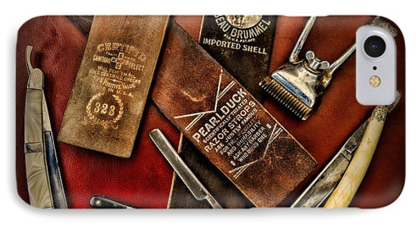 Barber - Barber Tools Of The Trade Phone Case by Paul Ward