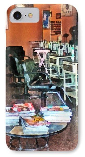 Barber - Hair Salon Phone Case by Susan Savad