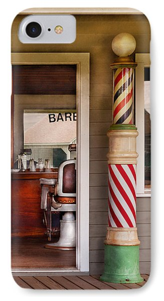 Barber - I Need A Hair Cut Phone Case by Mike Savad