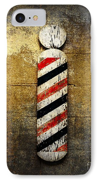Barber Pole IPhone Case by Andee Design