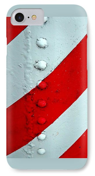 Barber Pole Phone Case by Chris Berry