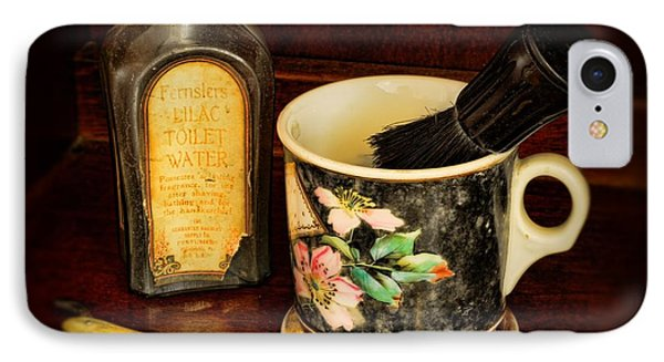 Barber - Shaving Mug And Toilet Water Phone Case by Paul Ward