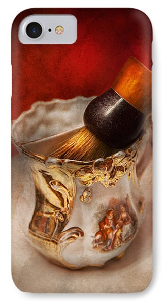 Barber - Shaving - The Beauty Of Barbering IPhone Case by Mike Savad