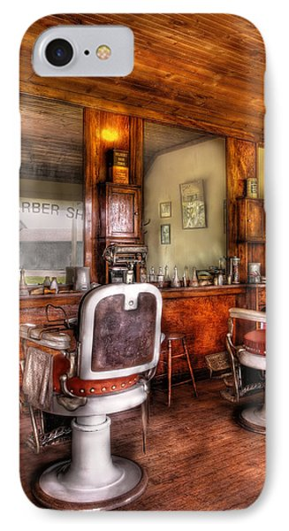 Barber - The Barber Shop II Phone Case by Mike Savad
